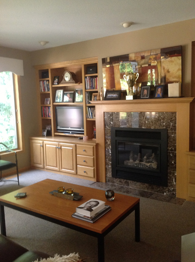 Interior painting and wood refinishing contractor