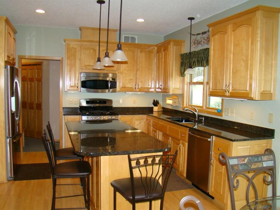 Restored Maple Kitchen Cabinets-Ham Lake, Minnesota - Lake ...