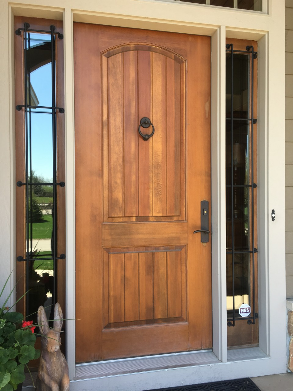 Before Picture Exterior Entry Door In Stillwater Mn Lake Area