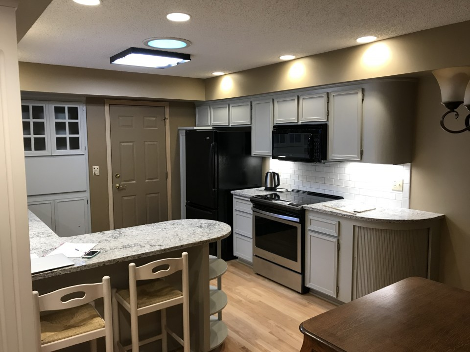 kitchen cabinets Archives - Lake Area Painting & Decorating ...